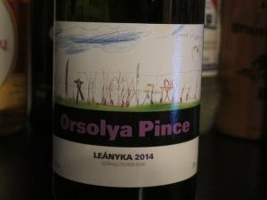Orsolya Pince Leányka 2014