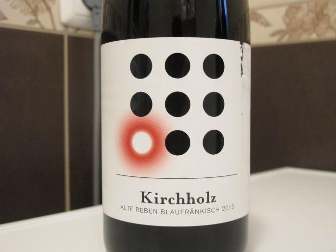 Weninger Burgenland Kirchholz kékfrankos 2013.JPG