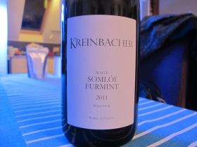 Kreinbacher - Nagy Somloí Furmint selection 2011.JPG